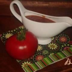фото рецепта Домашний томатный соус к мясу