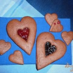 Мягкое песочное печенье из полбяной муки
