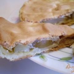 Песочный пирог с грушами