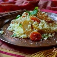 фото рецепта Пряный гарнир с грушами