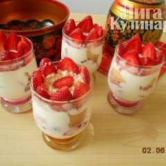 Verrines a la fraises или Верин  с клубникой