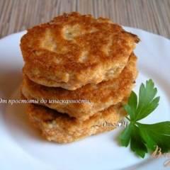 фото рецепта Котлеты из икры сазана