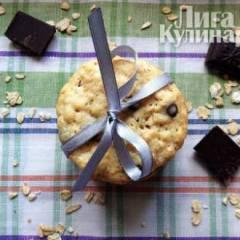 Овсяное печенье с шоколадом (Oatmeal Chocolate Chip Cookie)