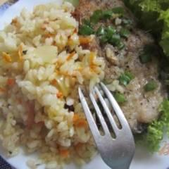 фото рецепта Рисовый гарнир к рыбе
