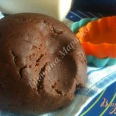 фото рецепта Рубленое шоколадное тесто