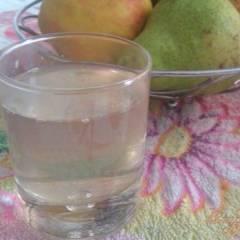фото рецепта Яблочно-грушевый компот