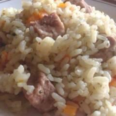 Рис со свининой а-ля плов