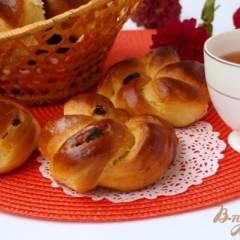 Венские булочки с изюмом