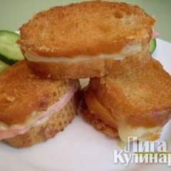 Хрустящие горячие бутерброды