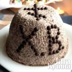 Пасха творожная шоколадная