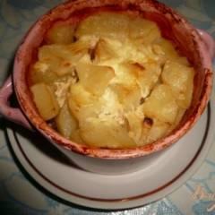 Ленивый горшочек с картофелем и мясом