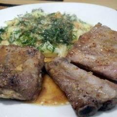 фото рецепта Ребрышки свиные в горчично-медовом соусе