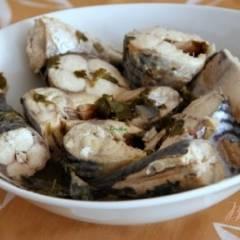 Скумбрия в соусе киндзмари