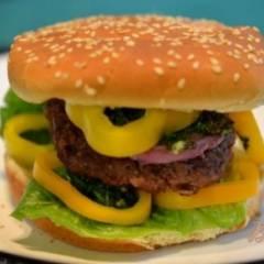 фото рецепта Чимичурри гамбургер