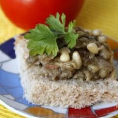 Закуска из баклажанов с кедровыми орешками