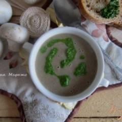 Грибной суп с горчицей