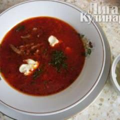 фото рецепта Борщ русский