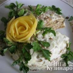 фото рецепта Торт из кабачков постный
