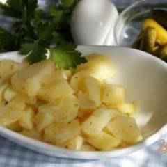 Классический немецкий картофельный салат