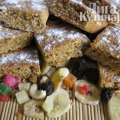 фото рецепта Постное медовое печенье