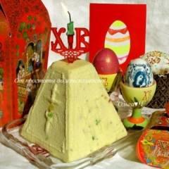фото рецепта Пасха Царская с цукатами и кедровыми орешками