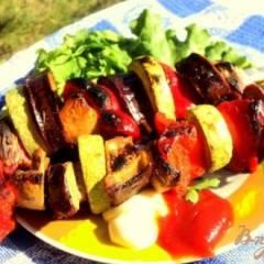 фото рецепта Овощные шашлыки