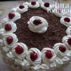 Вишневый торт по-шварцвальдски