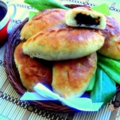 Пирожки печеные со щавелем