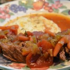 Тушеная говядина по-итальянски