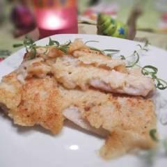 фото рецепта Рыба в кляре из сливок со специями