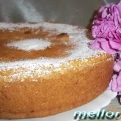 Ароматный творожный пирог с яблоками