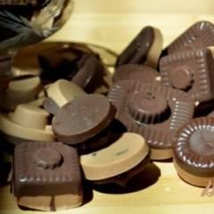 фото рецепта Шоколадные конфеты с начинкой