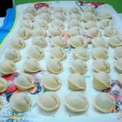 Пельмени (тесто в хлебопечке)