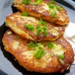 Оладьи из картофеля с сыром