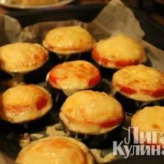 Баклажаны, запеченные с сыром