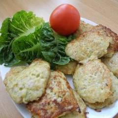 фото рецепта Оладушки из кабачков с картошкой