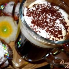фото рецепта Кофе по-немецки с коньяком