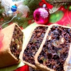 Шотландский новогодний кекс – Black Bun