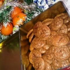 Шоколадно- ореховое печенье
