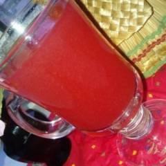 фото рецепта Клюквенный морс с медом