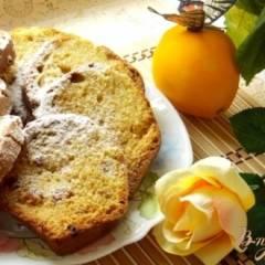 Апельсиновый кекс с изюмом