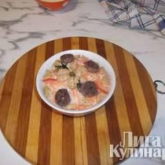 Сладкий салат из топинамбура