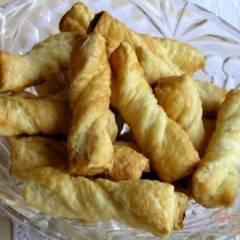 Витое сахарное печенье