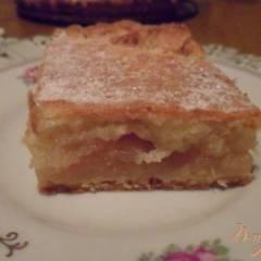 Яблочно - лимонный пирог
