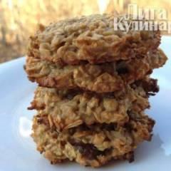 фото рецепта Низкокалорийное овсяное печенье
