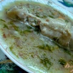 Суп гречневый по-польски