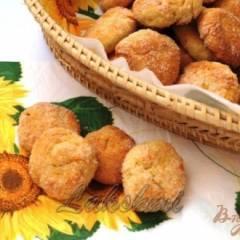Творожное печенье с курагой