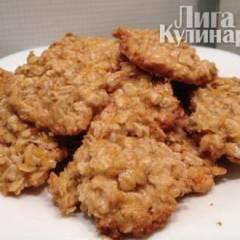 фото рецепта Медово-апельсиновое овсяное печенье