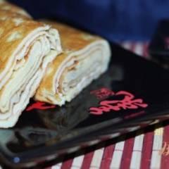 фото рецепта Японский омлет (Тамаго-яки)