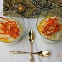 Рисовая каша-пюре с цукини